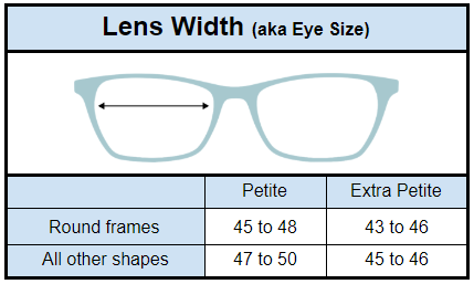What Size Are Petite Glasses? - Petite Glasses