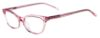 Phyllis Pink Crystal Thin Cat-Eyed Plastic Size 49 Women's Petite Glasses For Small or Narrow Faces-2