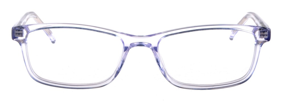 ac9f709c30469 Debbie Clear Crystal Rectangular Thin Plastic Size 48 Women s Petite Glasses  For Small or Narrow Faces