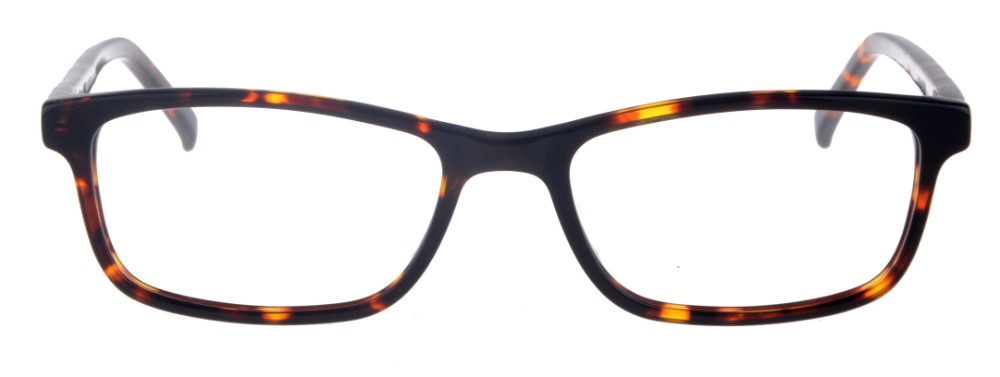 Debbie Tortoise Rectangular Thin Plastic Size 48 Women's Petite Glasses For Small or Narrow Faces