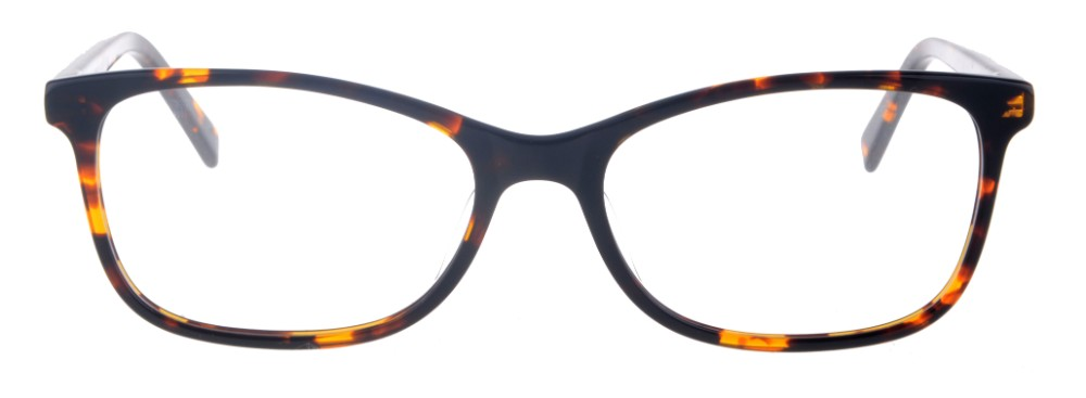 Kara Tortoise Rectangular Thin Plastic Size 48 Women's Petite Glasses For Small or Narrow Faces