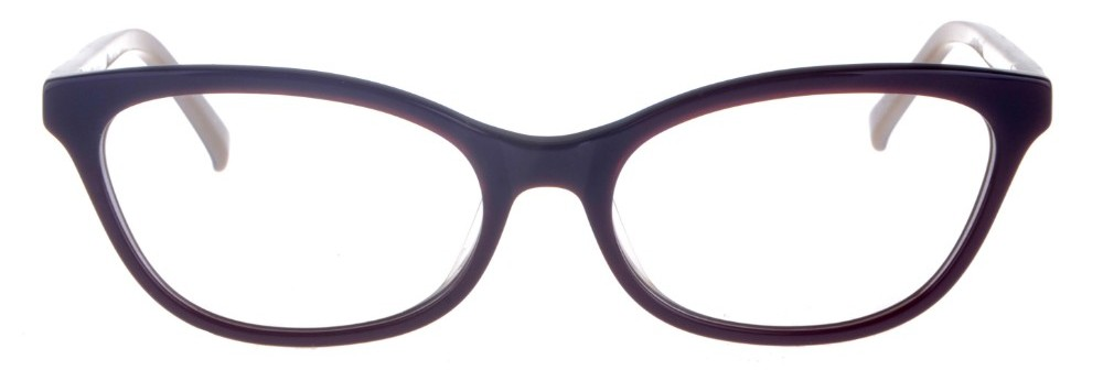 Phyllis Burgundy Thin Cat-Eyed Plastic Size 49 Women's Petite Glasses For Small or Narrow Faces